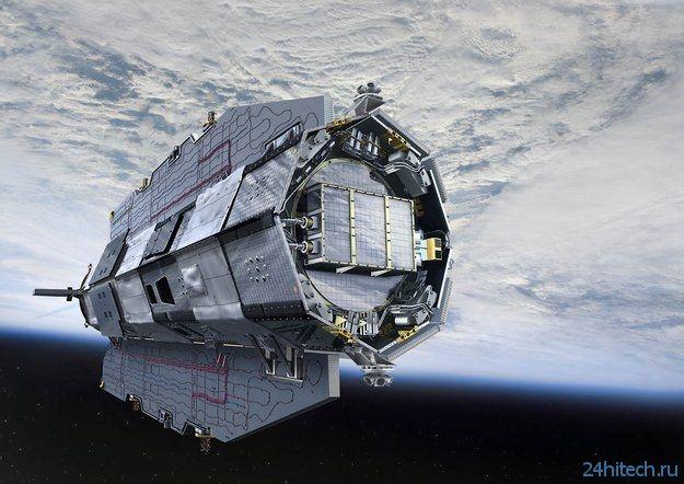 Спутник GOCE почти полностью сгорел в атмосфере