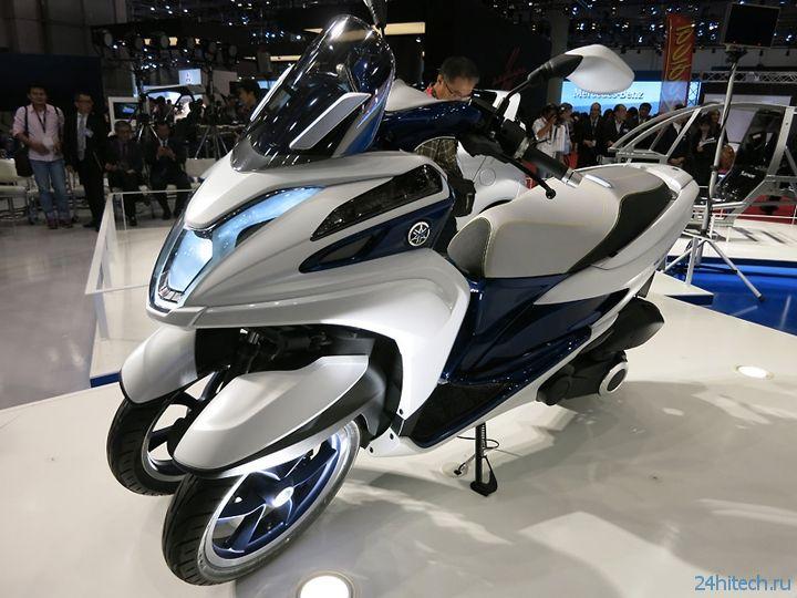 Tokyo Motor Show 2013: трицикл Yamaha Tricity выйдет в середине 2014 года
