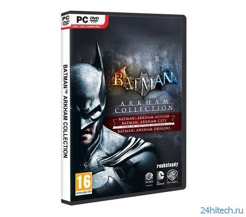 Warner Bros. анонсировала сборник Batman: Arkham Collection Edition
