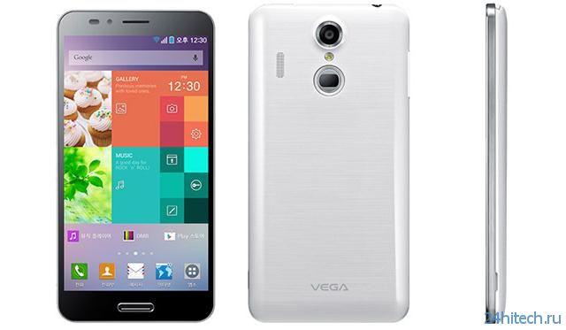 Анонсирован смартфон Pantech Vega Secret Up (2 фото)
