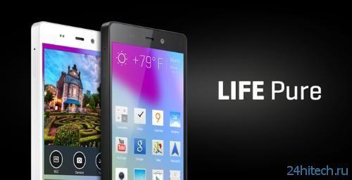 "BLU Life Pure — ещё один смартфон с 5""экраном 1080p и 13-Мп камерой"