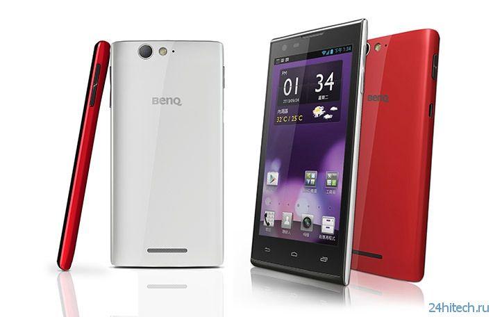 BenQ отметила возвращение на телефонный рынок двумя моделями