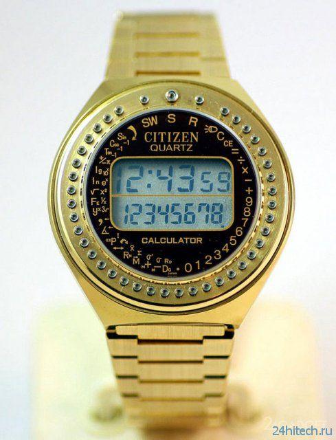 Часы-калькулятор - гаджеты нашего детства (7 фото)