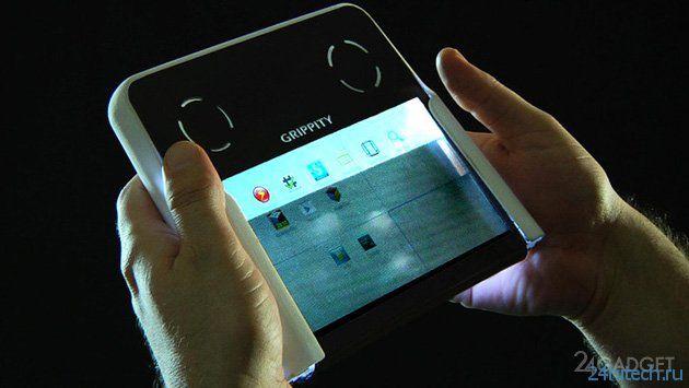 Двухсторонняя клавиатура стала Android-планшетом (видео)