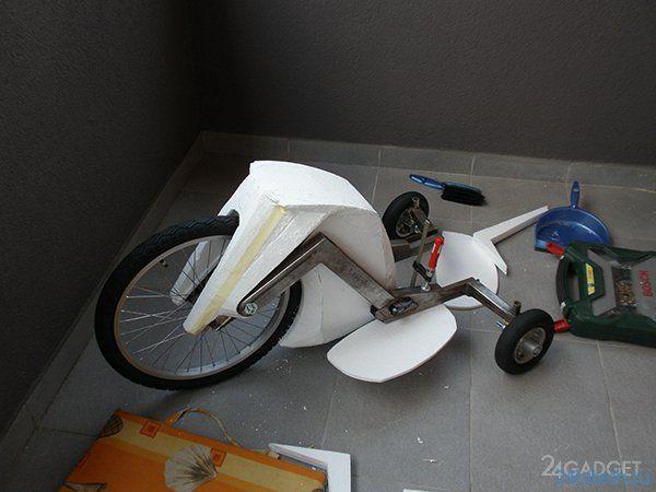 Электрический самокат S3TR (10 фото + 2 видео)