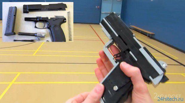 Фанат Call of Duty Ghosts сделал оружие из конструктора LEGO (2 видео)
