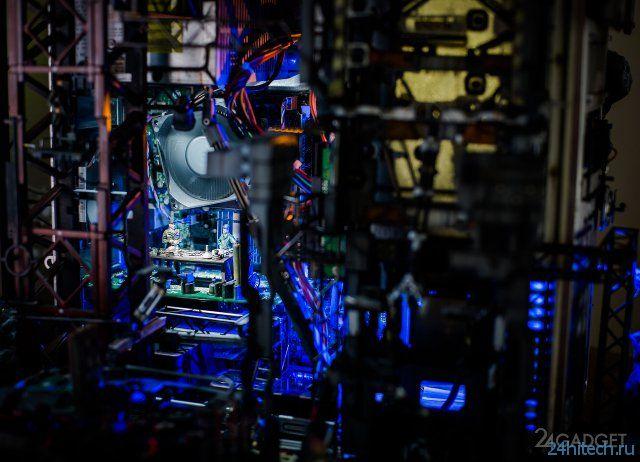 Фантастическая диорама из персонального компьютера (15 фото)