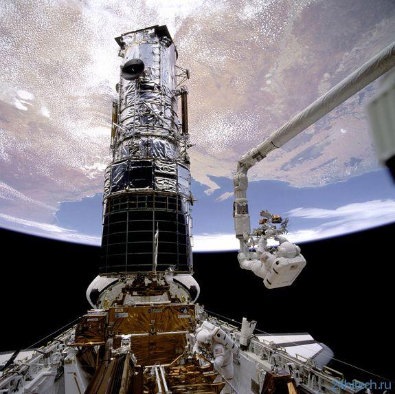Годовщина первого ремонта космического телескопа Хаббл