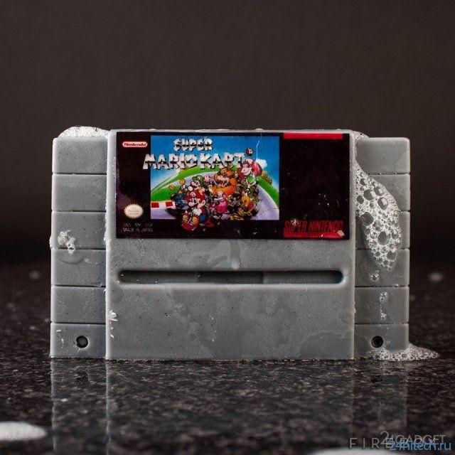 Картриджи для SNES, которыми можно мыться (11 фото)