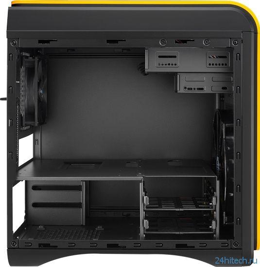 Компактные корпуса Aerocool DS Cube