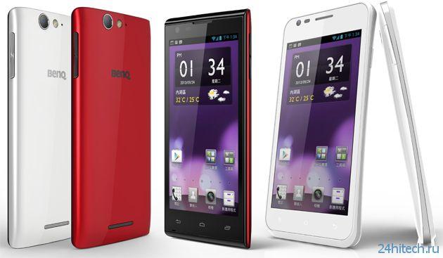 Компания BenQ вернулась на рынок смартфонов (6 фото)