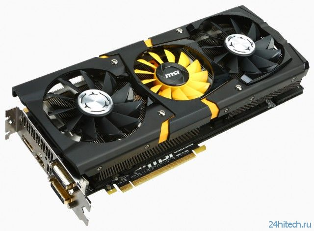 MSI готовит к выпуску видеокарту GeForce GTX 780 Lightning Lite Edition