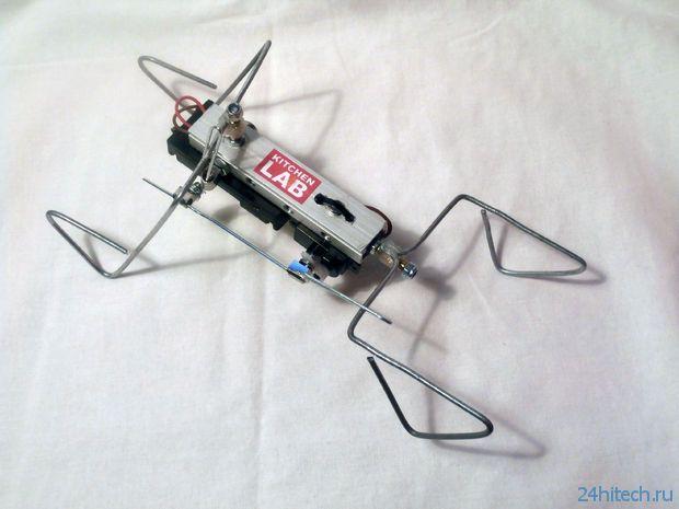 Минималистичный шагающий робот (2 фото + видео)