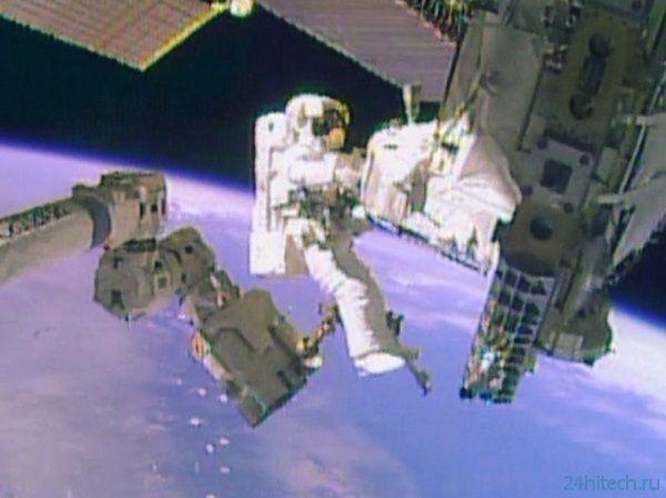 Проведены работы по ремонту системы охлаждения МКС