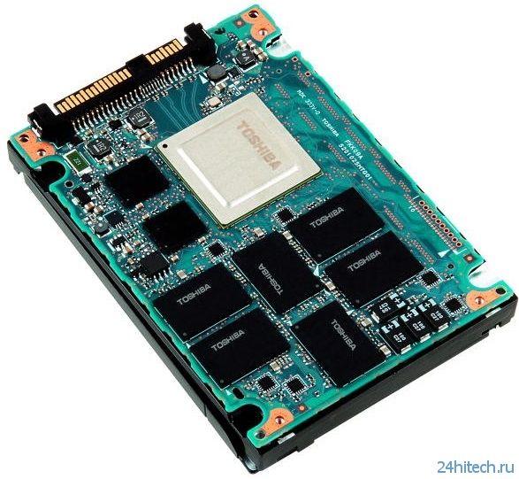 """Toshiba представила """"сверхнадежные"""" SSD PX03SN Series"""