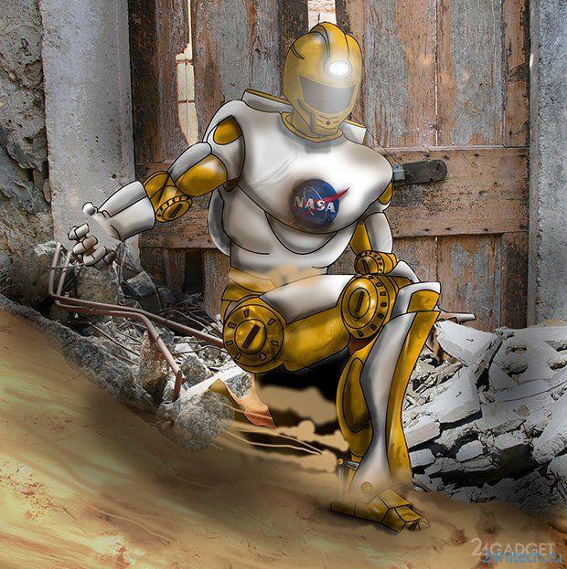 Valkyrie - человекоподобный робот NASA (8 фото + видео)