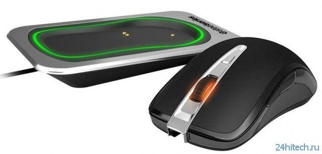 Беспроводная игровая мышь SteelSeries Sensei Wireless с высокоточным лазерным сенсором