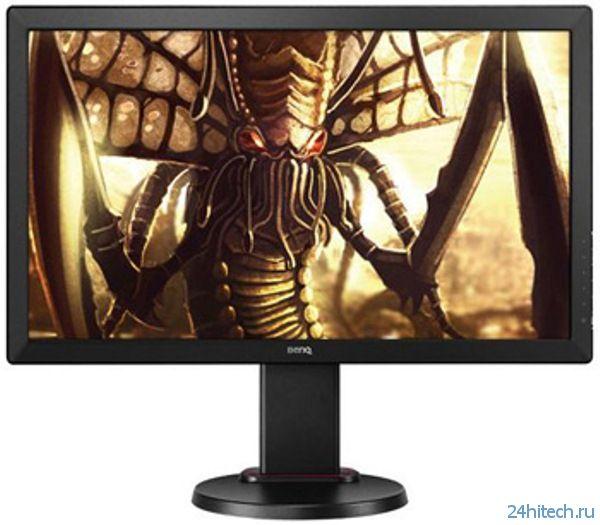 CES 2014: Представлен геймерский монитор BenQ RL2460HT