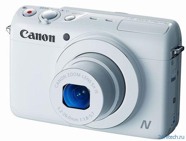 Canon PowerShot N100 - камера с двумя объективами (3 фото)