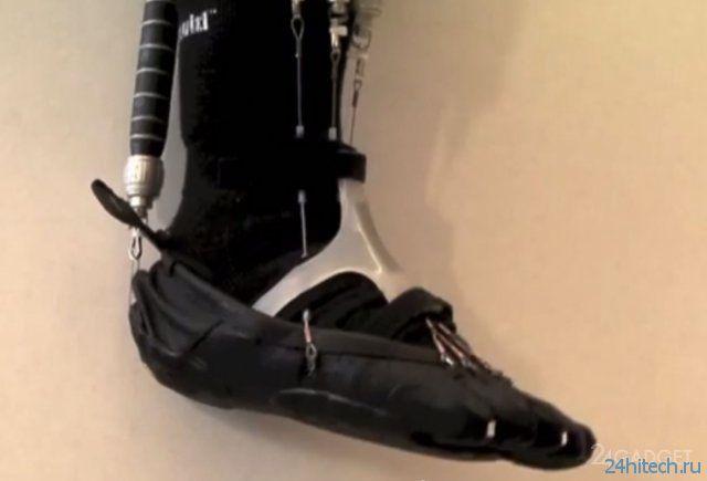 Экзоскелет для парализованных людей (видео)
