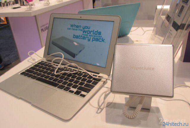 HyperJuice - продлит автономность MacBook на 53 часа