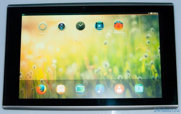 Известны все характеристики первого планшета на базе Firefox OS