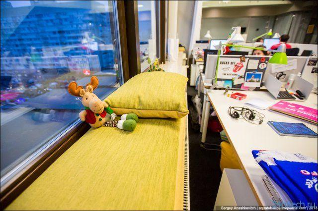 Киевский офис компании Яндекс (31 фото)