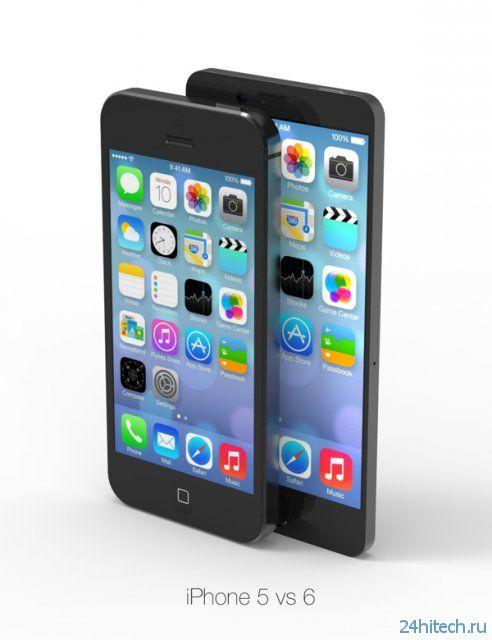 Концепт 4.7-дюймового iPhone 6 (видео)