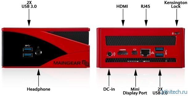 Maingear Spark - компактный геймерский неттоп (3 фото)