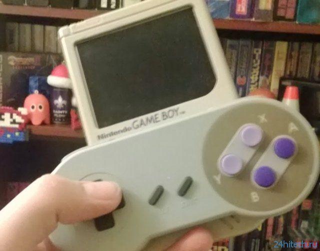 Моддинг старого Game Boy (2 фото + видео)