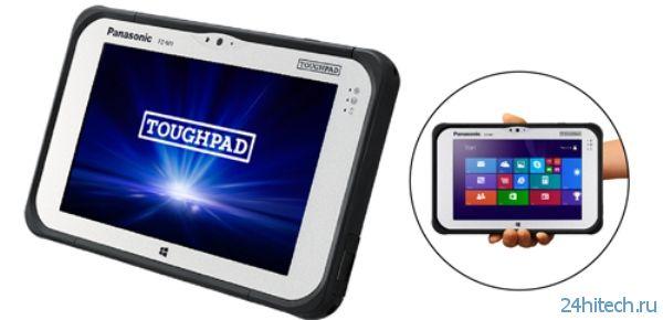 Panasonic TOUGHPAD FZ-M1CCAAZBJ – защищенный планшет на Intel Core i5