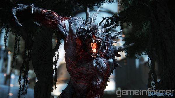 Первые скриншоты Evolve от Turtle Rock показывают монстра Goliath