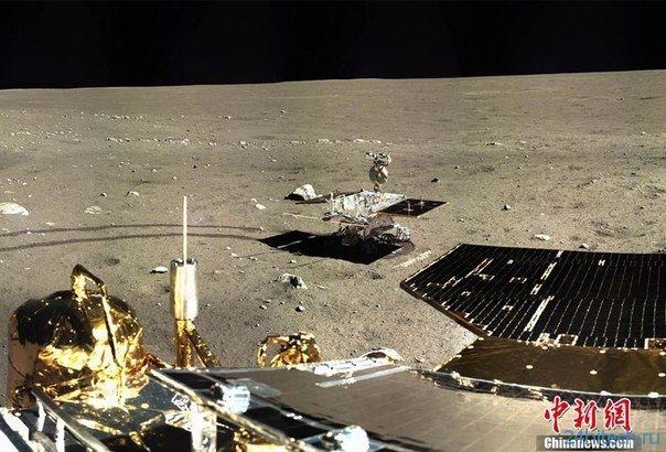 В китайском луноходе Юйту выявлена неисправность