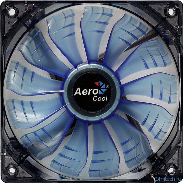 В серию AeroCool AirForce вошли вентиляторы типоразмера 120 и 140 мм
