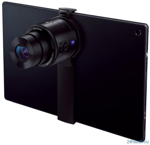 Внешние камеры Sony QX теперь и на планшетах (4 фото)