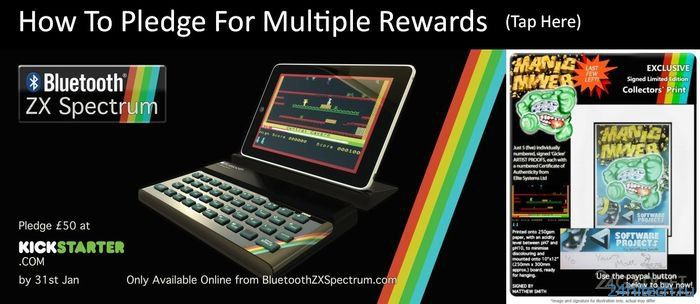 ZX-Spectrum в виде Bluetooth-клавиатуры (7 фото)