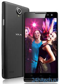 5-дюймовый смартфон Xolo Q1100 построен на однокристальной платформе Qualcomm MSM 8228 (Snapdragon 400)