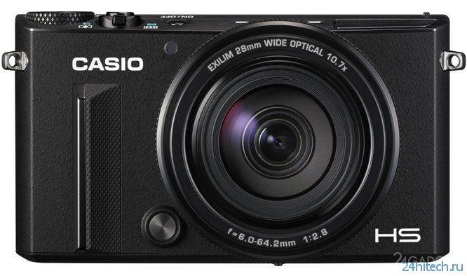 Анонсирована компактная камера Casio Exilim EX-100 (2 фото)