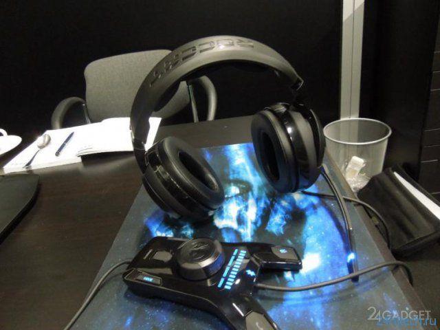 Аудио-гарнитура для профессиональных геймеров (2 фото + 2 видео)