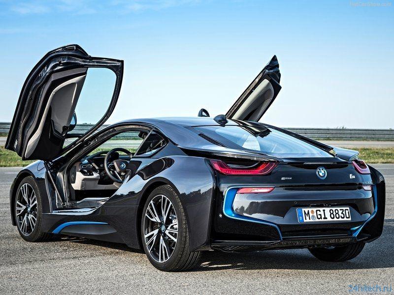 BMW i8: прощай привычный светодиод, да здравствует лазерный свет