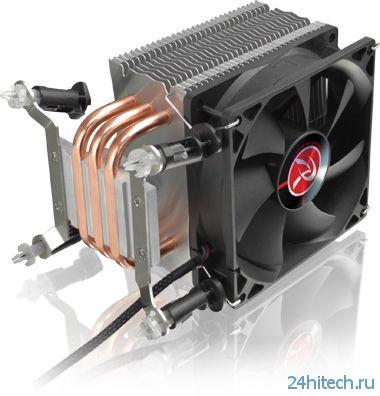 Башенный кулер RAIJINTEK RHEA с прямым контактом для чипов Intel