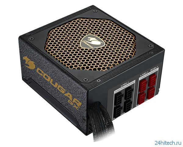 Блоки питания Cougar GX V3 предназначены для мощных игровых ПК