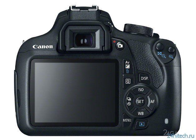 Бюджетная зеркалка от Canon (2 фото)