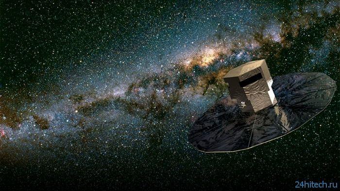 Европейский охотник за звездами телескоп Гайя прислал первый снимок