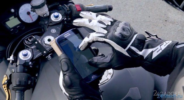 Гель для работы с емкостными дисплеями в перчатках (4 фото + видео)