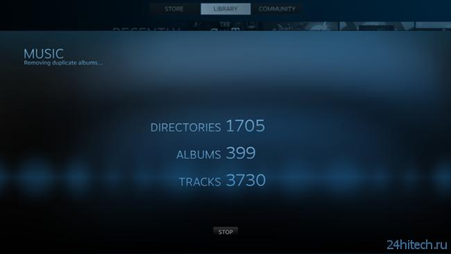Игровой сервис Steam научится проигрывать музыку