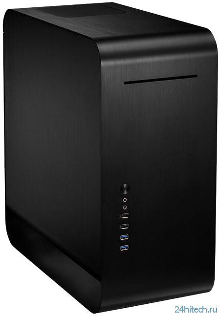 Компактный чёрный корпус Cooltek UMX2 в формате Mid Tower