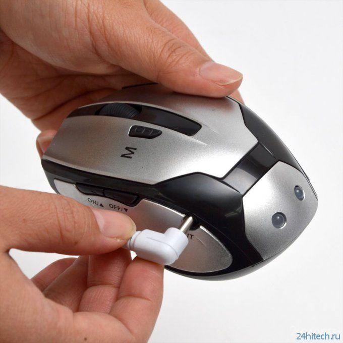 Компьютерная мышка с электро-массажером (7 фото)