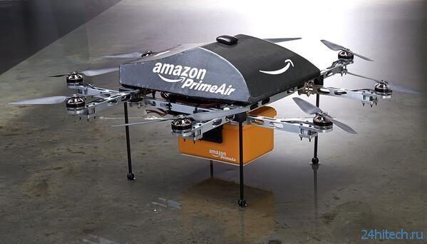 Курьерский дрон, сканирующий отпечаток пальцев и сетчатку глаза, будет запущен в ОАЭ