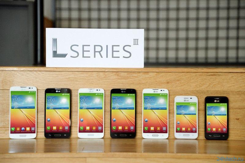 LG представила смартфоны L90, L70 и L40 под управлением Android 4.4 KitKat